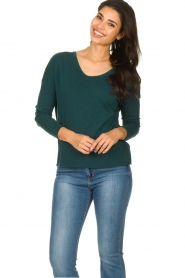 American Vintage |  Long sleeve Sonoma | dark green  | Picture 2