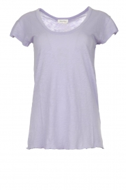American Vintage |  Basic T-shirt Lorkford | purple   | Picture 1
