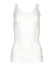 American Vintage |  Sleeveless top Massachusetts | white  | Picture 1