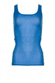 American Vintage |  Sleeveless top Massachusetts | blue   | Picture 1