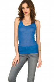 American Vintage |  Sleeveless top Massachusetts | blue   | Picture 2
