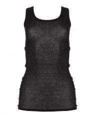 American Vintage    Sleeveless top Massachusetts   black     Picture 1