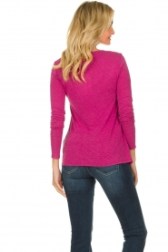American Vintage |  Long sleeve top Kobibay | pink  | Picture 4