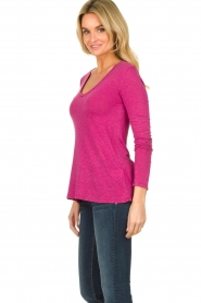 American Vintage |  Long sleeve top Kobibay | pink  | Picture 3