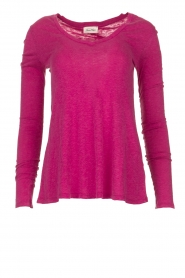 American Vintage |  Long sleeve top Kobibay | pink  | Picture 1