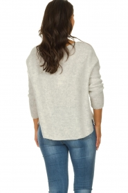 American Vintage |  Long sleeve top Vacaville | grey  | Picture 5