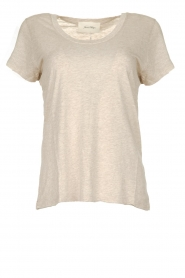 American Vintage |  Basic round neck T-shirt Jacksonville | naturel  | Picture 1