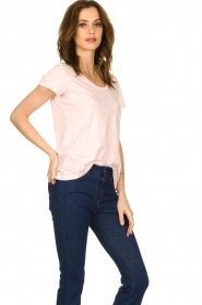 American Vintage |  Basic T-shirt Jacksonville | pink  | Picture 3