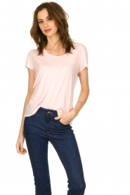 American Vintage |  Basic T-shirt Jacksonville | pink  | Picture 2