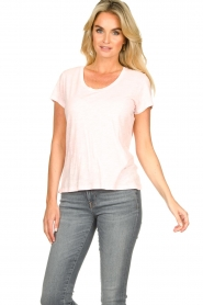 American Vintage |  Basic T-shirt Jacksonville | pink  | Picture 4