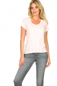 American Vintage |  Basic T-shirt Jacksonville | pink  | Picture 5