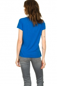 American Vintage |  Basic T-shirt Jacksonville | blue  | Picture 4