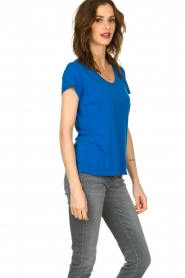 American Vintage |  Basic T-shirt Jacksonville | blue  | Picture 3