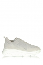 Copenhagen Footwear | Leren sneakers CPH61 | lichtgrijs  | Afbeelding 1
