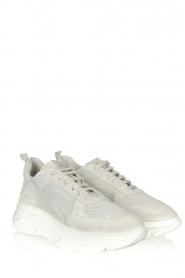 Copenhagen Footwear |  Leather sneakers CPH61 | light grey  | Picture 3