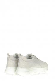 Copenhagen Footwear | Leren sneakers CPH61 | lichtgrijs  | Afbeelding 4