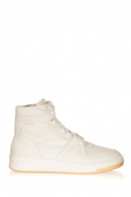 Copenhagen Footwear |  High leather sneakers CPH406 | white  | Picture 1