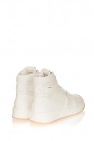 Copenhagen Studio's |  High leather sneakers CPH406 | white  | Picture 4