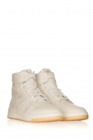 Copenhagen Footwear |  High leather sneakers CPH406 | white  | Picture 3