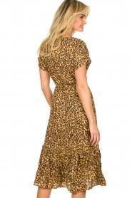 Freebird |  dierenprint | Leopard print dress Tara   | Picture 5