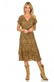 Freebird |  dierenprint | Leopard print dress Tara   | Picture 3