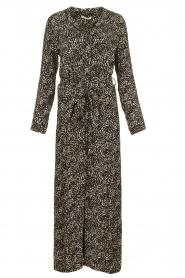 Freebird | Maxi jurk met print Vikas | zwart   | Afbeelding 1