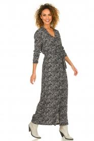 Freebird | Maxi jurk met print Vikas | zwart   | Afbeelding 3