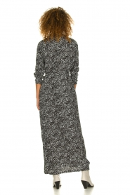 Freebird |  Maxi dress with print Vikas | black  | Picture 5