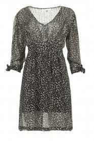 Freebird |  zwart | Print dress Winnie   | Picture 1