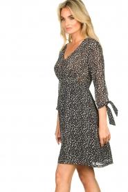 Freebird |  zwart | Print dress Winnie   | Picture 6