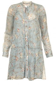 Freebird |  Floral dress Celeste | blue  | Picture 1