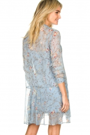 Freebird |  Floral dress Celeste | blue  | Picture 6