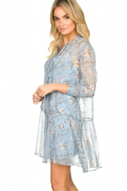 Freebird |  Floral dress Celeste | blue  | Picture 5