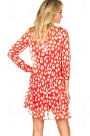 Freebird |  Dress with lurex details Celeste | red  | Picture 5