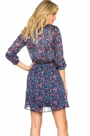 Freebird | Dress with flower print Gianna | blue  | Picture 6