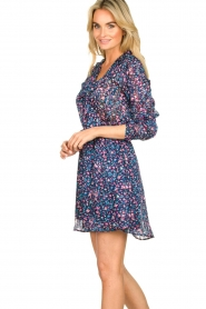 Freebird | Dress with flower print Gianna | blue  | Picture 5