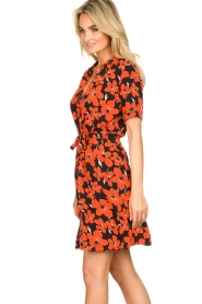 Freebird | Dress with flower print Suzy | red  | Picture 5
