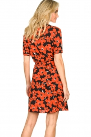 Freebird | Dress with flower print Suzy | red  | Picture 6
