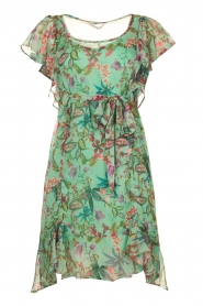 Freebird    Dress with flower print Parel   blue    Picture 1