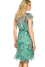 Freebird    Dress with flower print Parel   blue    Picture 7