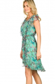 Freebird    Dress with flower print Parel   blue    Picture 6