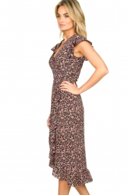 Freebird |  zwart | Maxi dress Rosy  | Picture 4