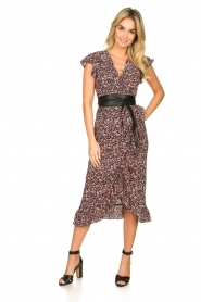 Freebird |  zwart | Maxi dress Rosy  | Picture 3