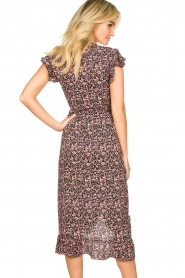 Freebird |  zwart | Maxi dress Rosy  | Picture 5
