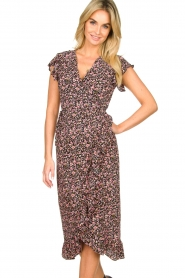Freebird |  zwart | Maxi dress Rosy  | Picture 2