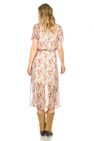 Freebird | Maxi-jurk met bloemenprint Harper | wit  | Afbeelding 5