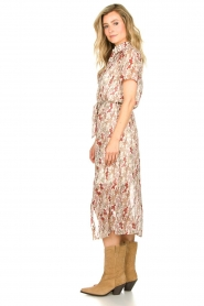 Freebird |  Floral maxi dress Harper | white  | Picture 4
