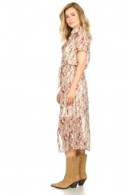 Freebird | Maxi-jurk met bloemenprint Harper | wit  | Afbeelding 4