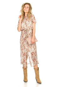 Freebird |  Floral maxi dress Harper | white  | Picture 2
