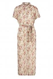 Freebird | Maxi-jurk met bloemenprint Harper | wit  | Afbeelding 1